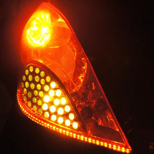 ruban led phares rouge orange 120 pic11