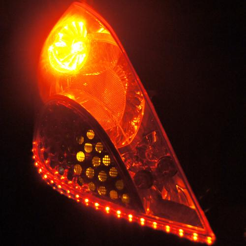 ruban led phares rouge orange 120 pic12