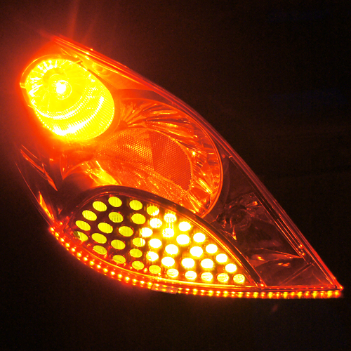 ruban led phares rouge orange 120 pic9