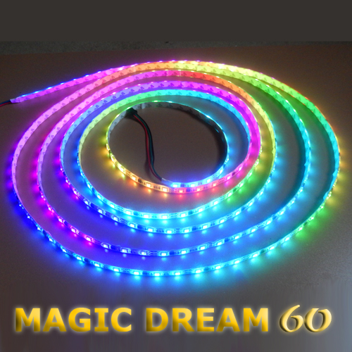 Ruban leds programmable magic dream 60 deco led eclairage for Ruban led chambre