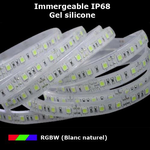 Rubans Led Immergeables Ip68 Pour Piscines Bassins Et Aquariums Sur