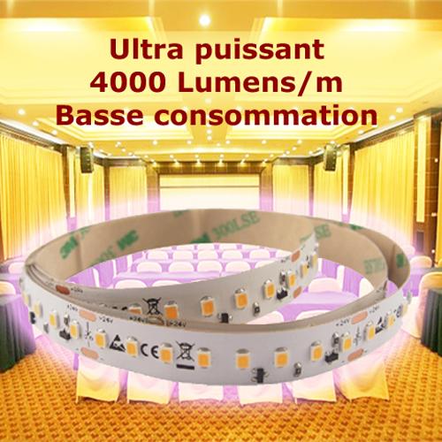 ruban led ultra puissant basse consommation 4000 lumens