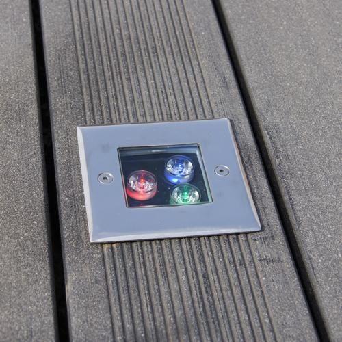 spot led 3W pour sol RGB SPOTSOL3W4 pic15
