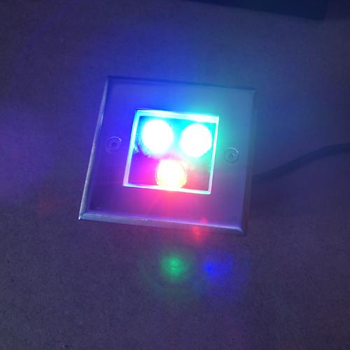 spot led 3W pour sol RGB SPOTSOL3W4 pic5