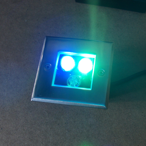 spot led 3W pour sol RGB SPOTSOL3W4 pic8
