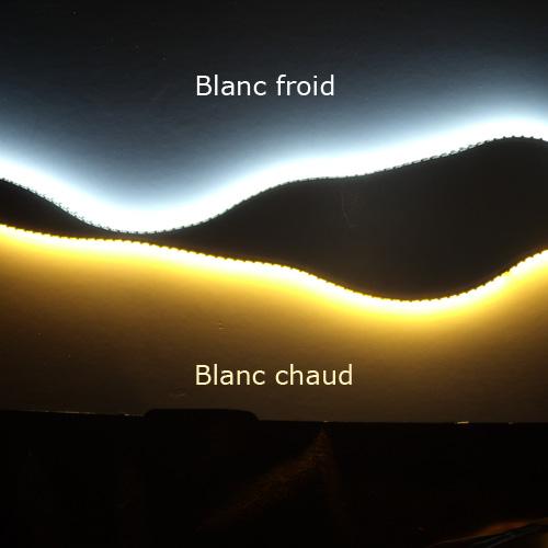 Led Blanc Chaud Strip Blanc Chaud et Froid