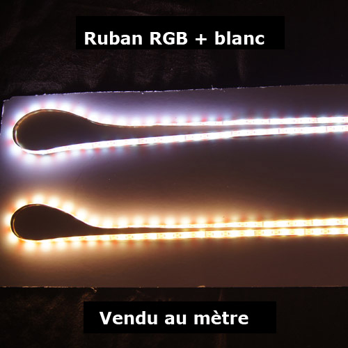 strip led RGBW vendu au metre