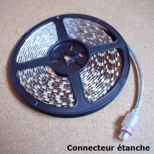 strip led avec connecteurs etanches
