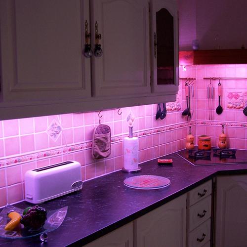 kit strip led 12v rgb smd 5050 60 leds m alim 6 7a. Black Bedroom Furniture Sets. Home Design Ideas
