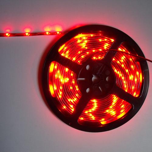 ruban led economique smd 3528 tanche 30 leds m rouge deco led eclairage. Black Bedroom Furniture Sets. Home Design Ideas