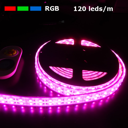 strip led rgb 120 leds m