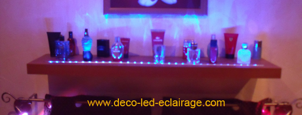 deco led eclairage id es d co pour les meubles. Black Bedroom Furniture Sets. Home Design Ideas