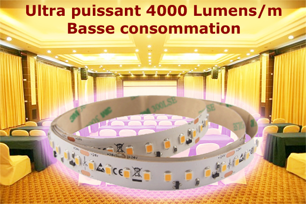 Rubans led basse consommation ultra puissants