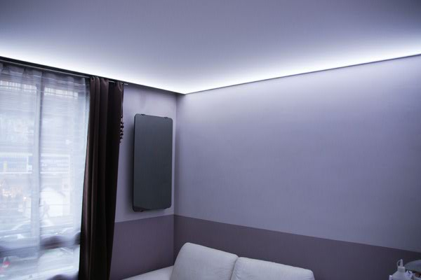 deco led eclairage eclairage led pour salons. Black Bedroom Furniture Sets. Home Design Ideas