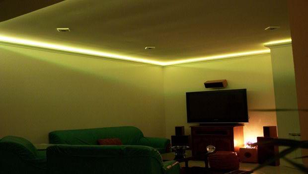 Deco led eclairage id es d co pour les salons for Led pour deco