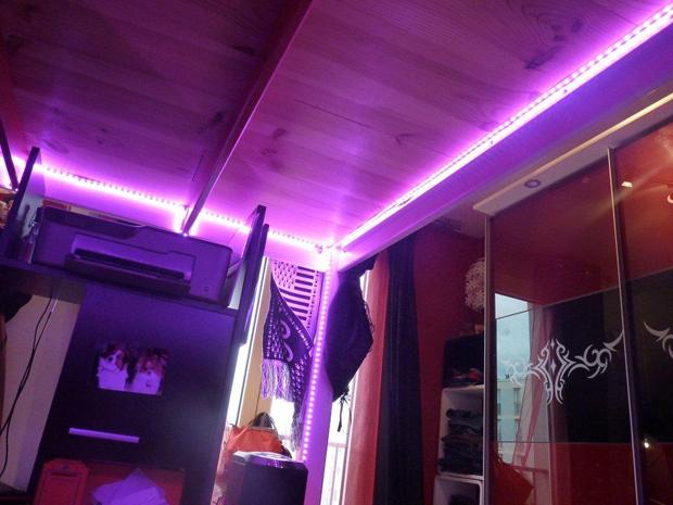 Deco Led Eclairage : Rubans led pour éclairage de mezzanines