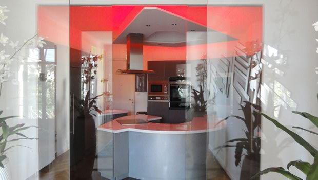 Cette Présentation A été Réalisée Avec 1 Kit Strip Led RGB En 30  Leds/mètre. Magnifique Cuisine Moderne ...