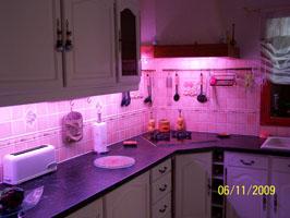 Eclairage led - Bandeau led cuisine ...