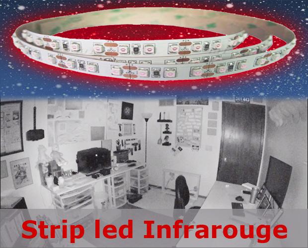ruban led infrarouge